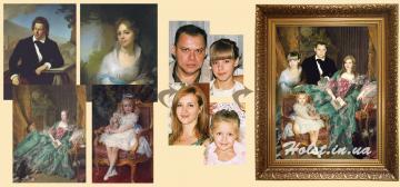 Коллаж из картин известных художников