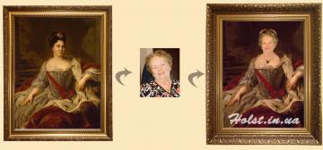 Пример выполненной работы - Портрет на заказ