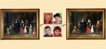 Пример выполенной работы - портрет на заказ