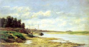 Барки на реке