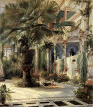 Пальмовая оранжерея на Павлиньем острове близ Потсдама