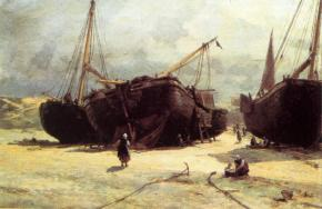 Починка рыбачьих судов
