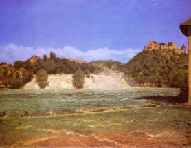 Водопад на Рейне близ Шаффхаузена
