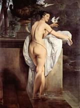 Портрет балерины Карлотты Шабер в виде Венеры (Венера с двумя голубками)
