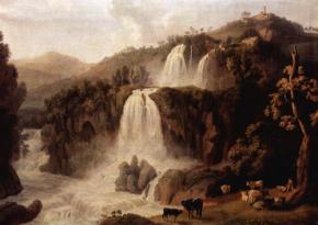 Большие водопады в Тиволи