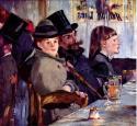 В кафе: кабаре Райхсхоффена