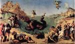 Персей, освобождающий Андромеду