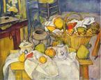 Натюрморт с корзиной для фруктов